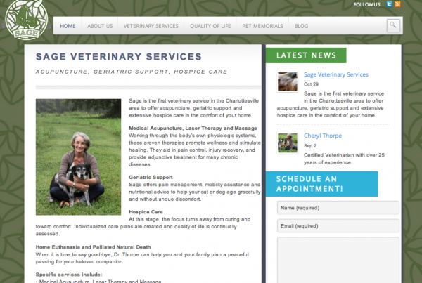 Sage Veterinary Service