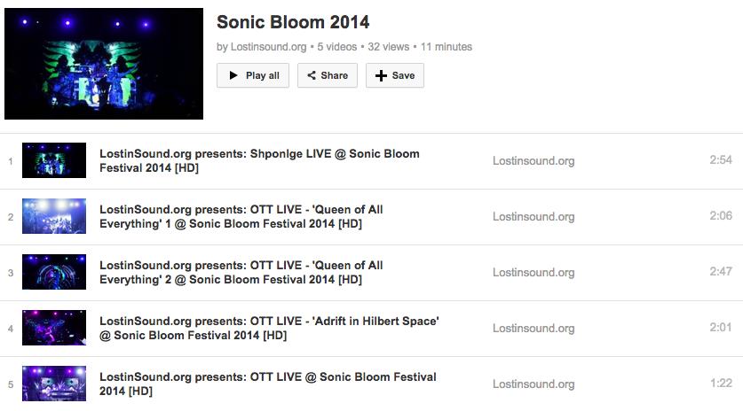 LiS sonic bloom