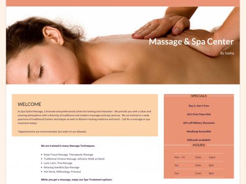 Spa Sasha Massage