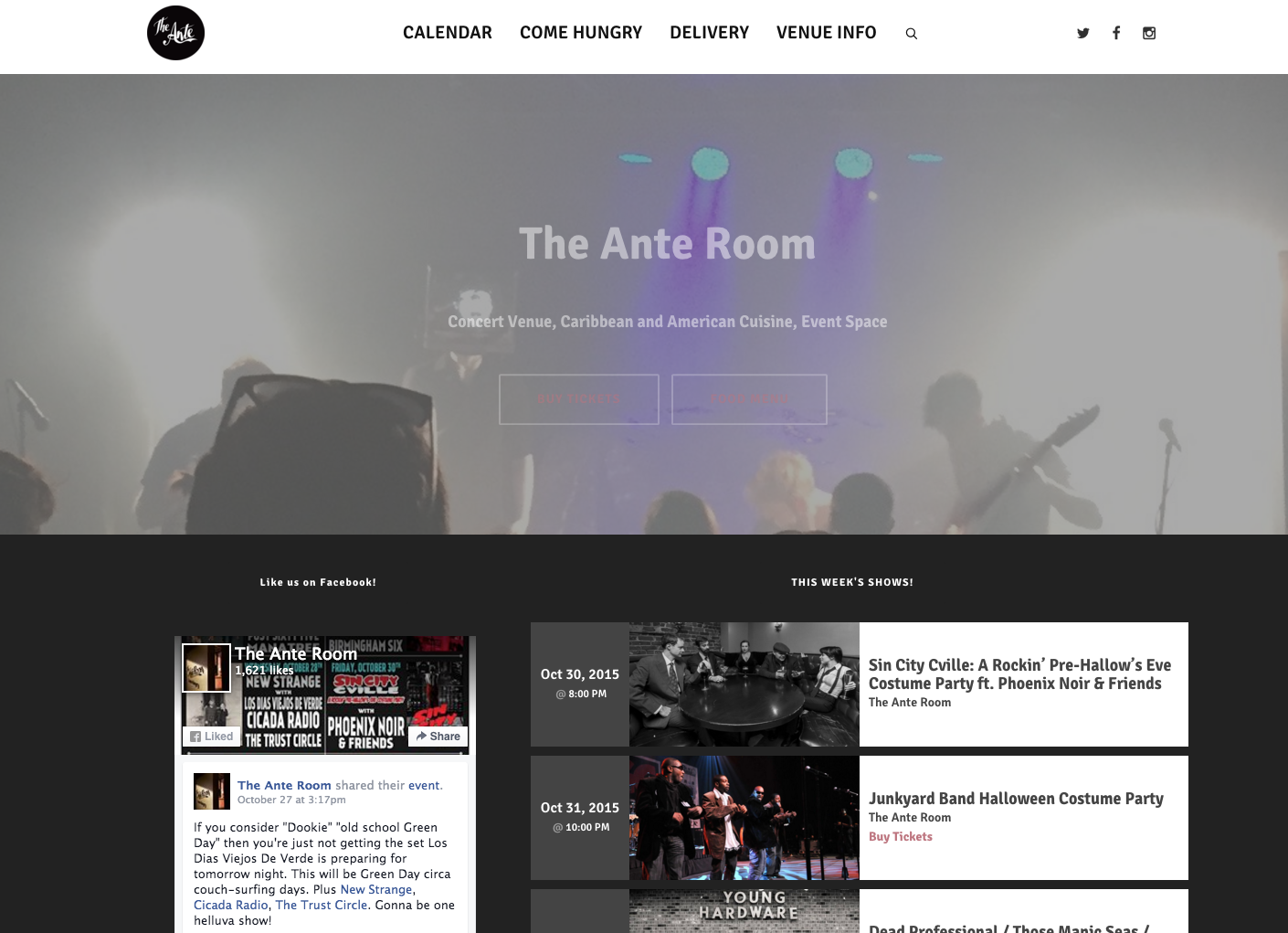 The Ante Room