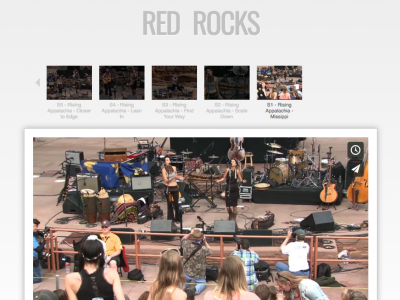 Rising Appalachia Red Rocks Amphitheater 2016